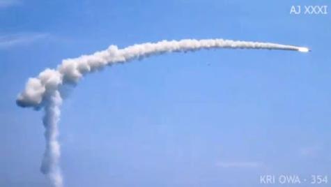 Yakhont được phóng từ khinh hạm Oswald Siahaan của Indonexia vào ngày 13/10/2012