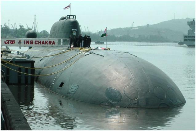 Tàu ngầm INS của Hảiquân Ấn Độ