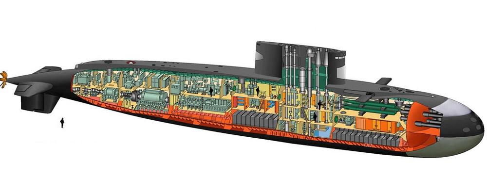 Cấu tạo bên trong tàu ngầmKilo 636 mà Việt Nam sắp tiếp nhận