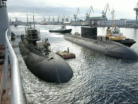 Tàu ngầm Kilo 636 của Việt Nam tại nhà máy