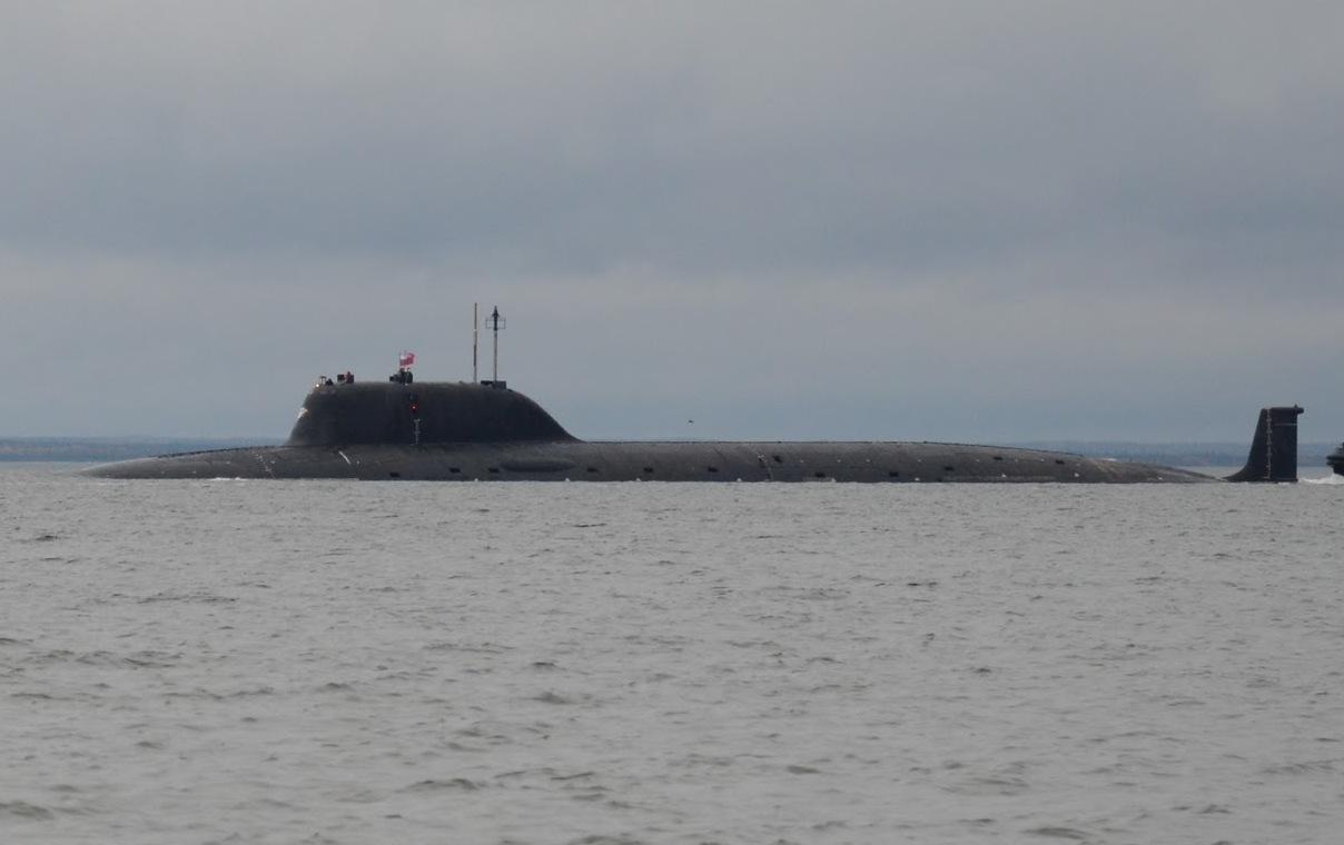 Tàu ngầm hạt nhân đa năng Severodvinsk lớp Yasen thuộc dự án 885 của Nga