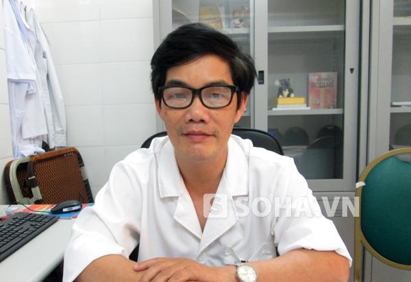 PGS. TS Bùi Vũ Huy – Trưởng khoa Nhi, Bệnh viện Bệnh Nhiệt đới Trung ương (Hà Nội)