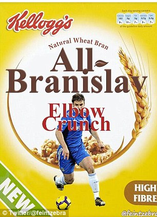Ivanovic trở thành đồ ăn yêu thích?