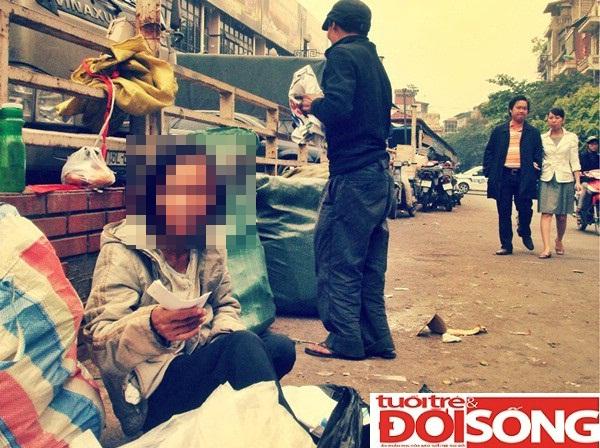 Chị Mai tại chợ Đồng Xuân