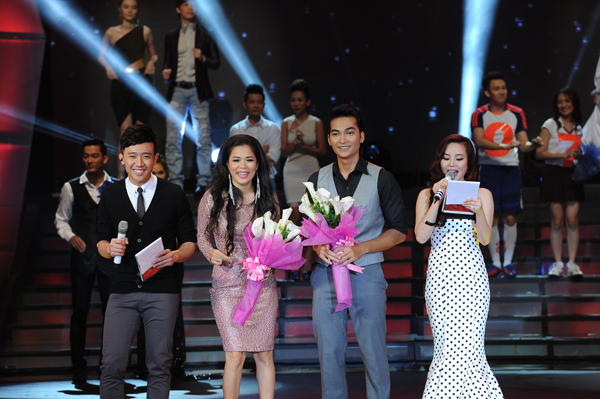 Mỹ Lệ, Khương Ngọc giành được giải cặp đôi yêu thích nhất do khán giả bình chọn qua live show 06.