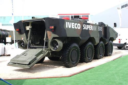 """Mỹ sẽ nhận được """"quái vật lưỡng cư"""" IVECO SUPERAV"""