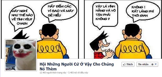 """Những hội nhóm """"không đỡ nổi"""" trên facebook"""
