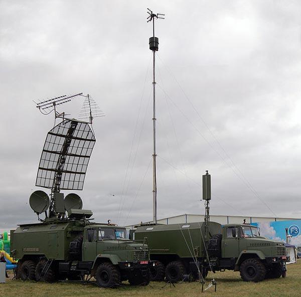 Hệ thống trinh sát điện tử thụ động Kolchuga. Đây là hệ thống radar thụ động chuyên phát hiện máy bay tàng hình tối tân nhất thế giới hiện nay. Kolchuga có khả năng phát hiện mục tiêu bay ở độ cao 10 km từ khoảng cách 450 km, nếu bay ở độ cao 20 km tầm phát hiện lên đến 620 km. Do hoạt động theo nguyên lý thu nhận tín hiệu mục tiêu mà không phát sóng  nên nó gần như miễn nhiễm với các loại tên lửa chống bức xạ hoạt động theo nguyên lý bám theo cánh sóng radar.