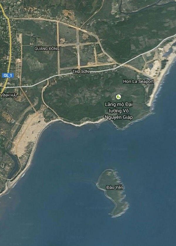Vị trí lăng mộ Đại tướng Võ Nguyên Giáp trên Google Map
