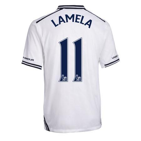 Hình ảnh về số áo Lamela được đăng tải trên website chính thức của Tottenham