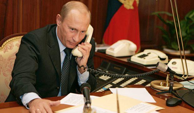Những cuộc điện đàm của Tổng thống Putin luôn được bảo vệ cẩn thận.