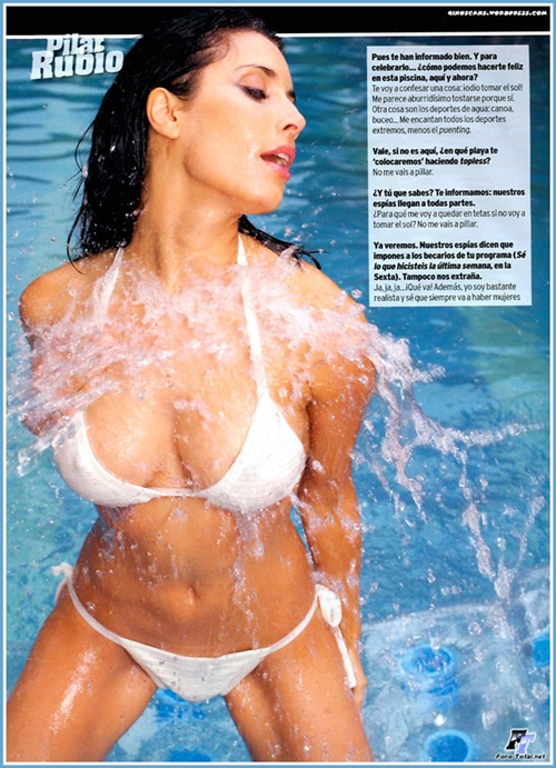 Pilar Rubio - người tình của Sergio Ramos
