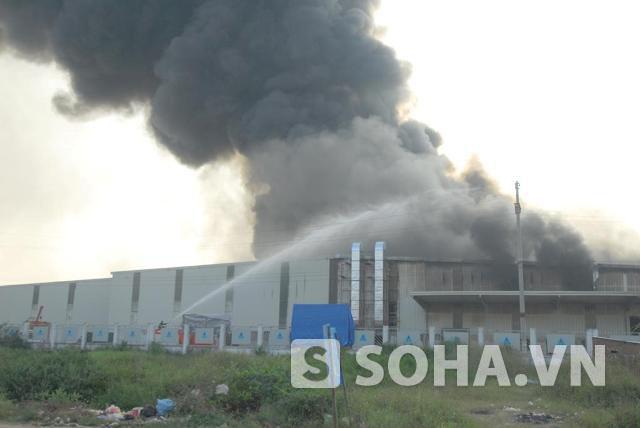 Hình ảnh hoang tàn sau vụ cháy dữ dội tại Công ty Diana