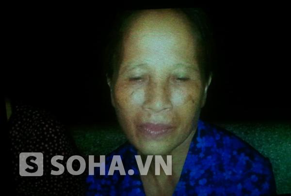 Bà Trần Thị Vân, người cùng thôn An Xá và gọi Đại tướng Võ Nguyên Giáp bằng ông.