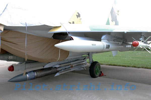 Cấu hình vũ khí mơ ước bao gồm tên lửa chống hạm Kh-31A, tên lửa diệt AWACS K-100 và tên lửa không đối không tầm trung R-27 sẽ cho phép Việt Nam vô hiệu hóa thế trận không-hải chiến của đối phương. Ảnh minh họa.