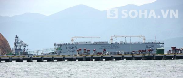 Cầu cảng nơi tàu ngầm Kilo Hà Nội sẽ neo đậu