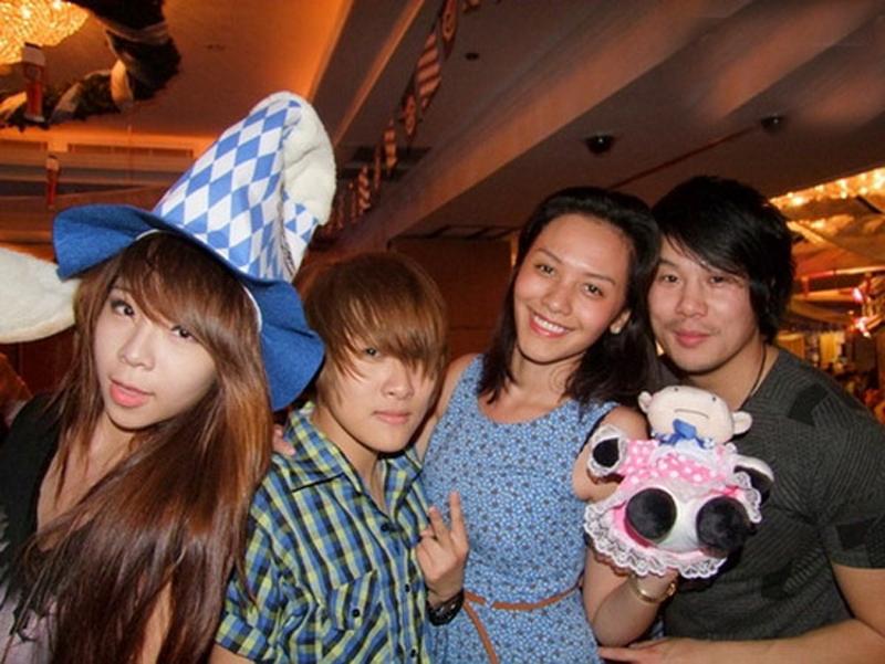 Trương Huệ Vân rất ít khi xuất hiện cùng Thanh Bùi tại các sự kiện giải trí.