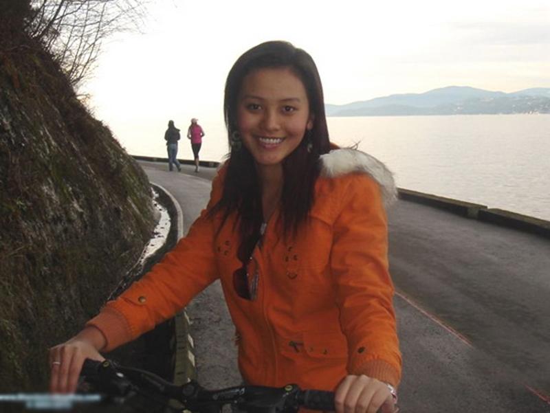 Nụ cười của Trương Huệ Vân