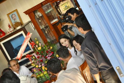 Nhà ở quê của các sao Việt
