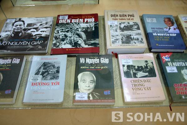 Những cuốn sách viết về Đại tướng Võ Nguyên Giáp