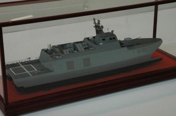 Mô hình tàu tên lửa tốc độ cao WPC của Đài Loan được giới quân sự thế giới đánh giá rất cao.