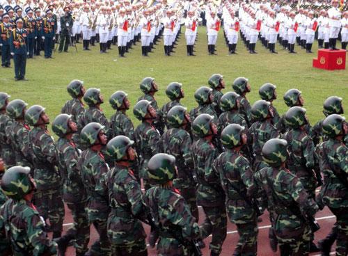 Khối chiến sĩ Bộ binh