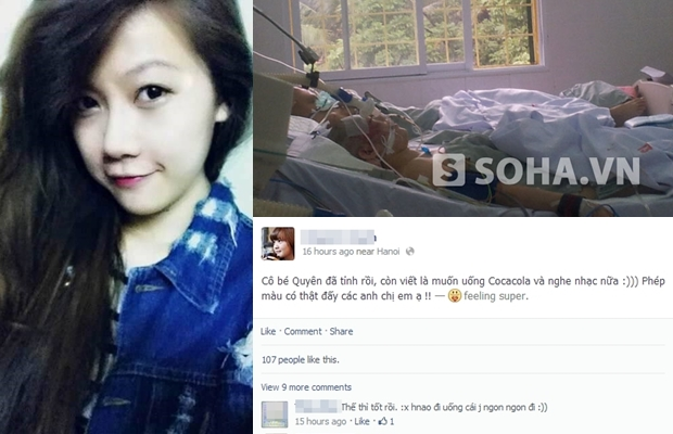 Cô gái bị đâm xe ở Xã Đàn tỉnh lại: Thứ tha cho kẻ gây án!?