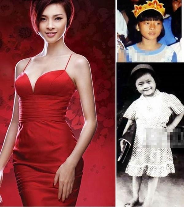 Nhan sắc đáng yêu của sao Việt thuở bé