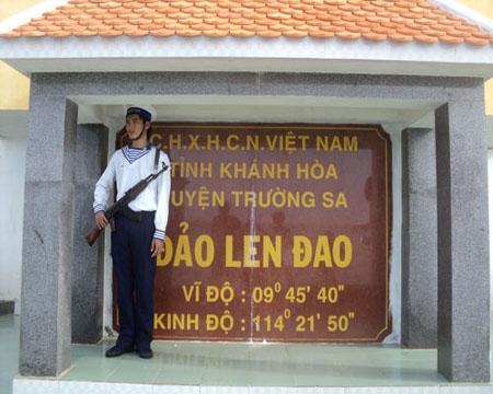 Đảo Len Đao, hòn đảo nơi đầu sóng ngọn gió