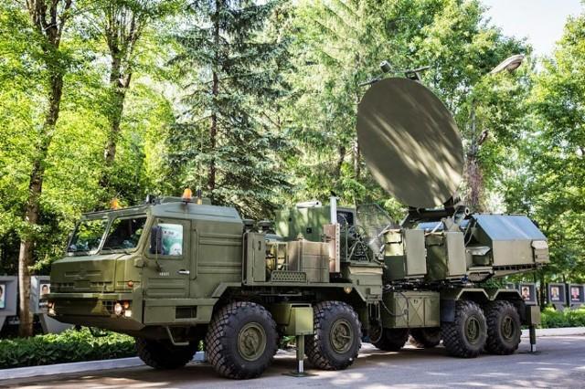 Tổ hợp tác chiến điện tử hiện đại Krasuha-2.