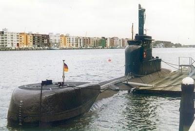 Tàu ngầm Type 206A Thái Lan dự định mua lại của Đức