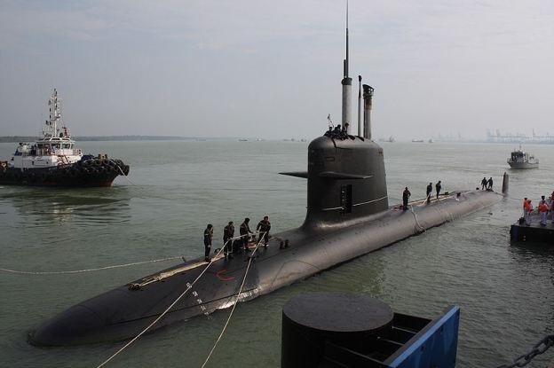 Tàu ngầm Scorpène của Malaysia