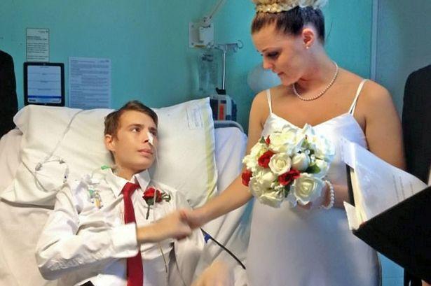 Đám cưới trên giường bệnh của Glenny