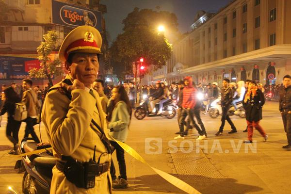 Trung tá Lê Hữu Dự, tổ trưởng tổ công tác Y1/141 CAHN,