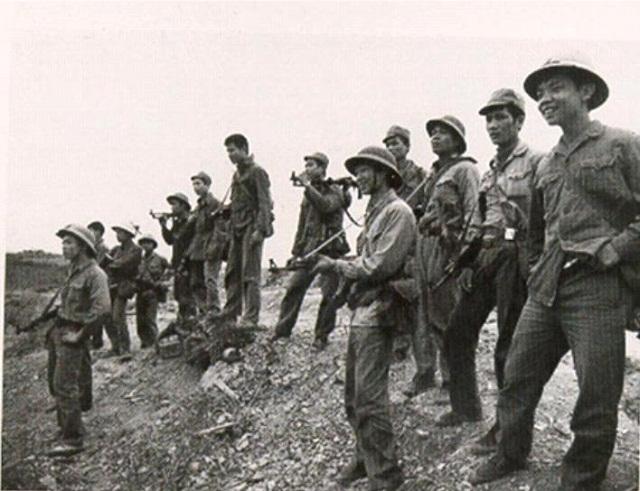 Các chiến sĩ quân đội nhân dân Việt Nam. (Theo nguồn Diễn đàn quân sự Việt Nam vnmilitaryhistory.net)