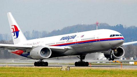 Máy bay Boeing B777-200ER của Hãng hàng không Malaysia Airlines