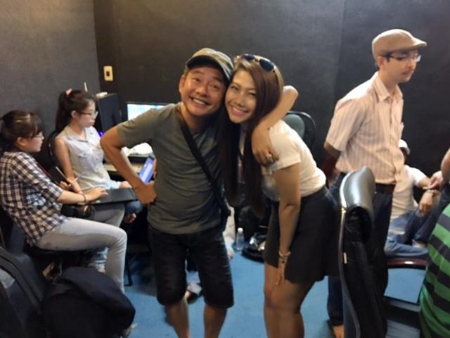 Huỳnh Mi cùng dàn nghệ sĩ nổi tiếng hát vì Miền Trung - Ảnh 3.