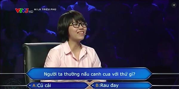 Mới 2 câu hỏi đầu tiên, MC Lại Văn Sâm đã choáng với người chơi - Ảnh 2.