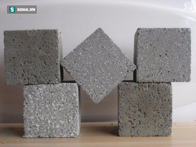 Tại sao xi măng là dạng bột nhưng khi trộn với nước lại cứng như đá? - Ảnh 2.