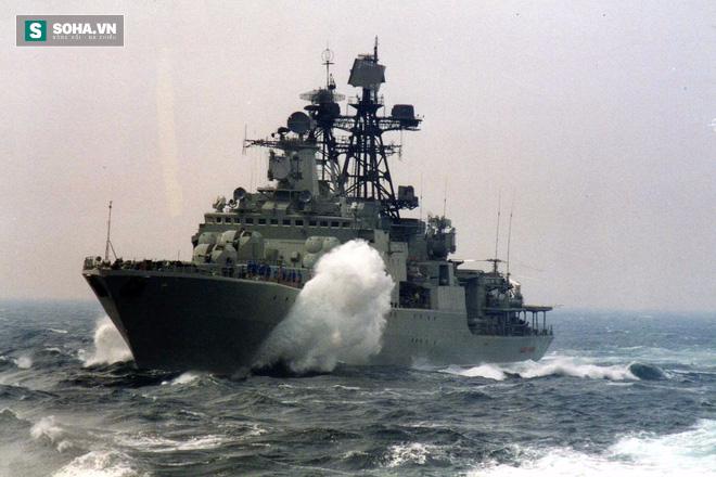 Vì sao Nga điều tàu cổ lỗ tập trận với Trung Quốc ở Biển Đông? - Ảnh 1.
