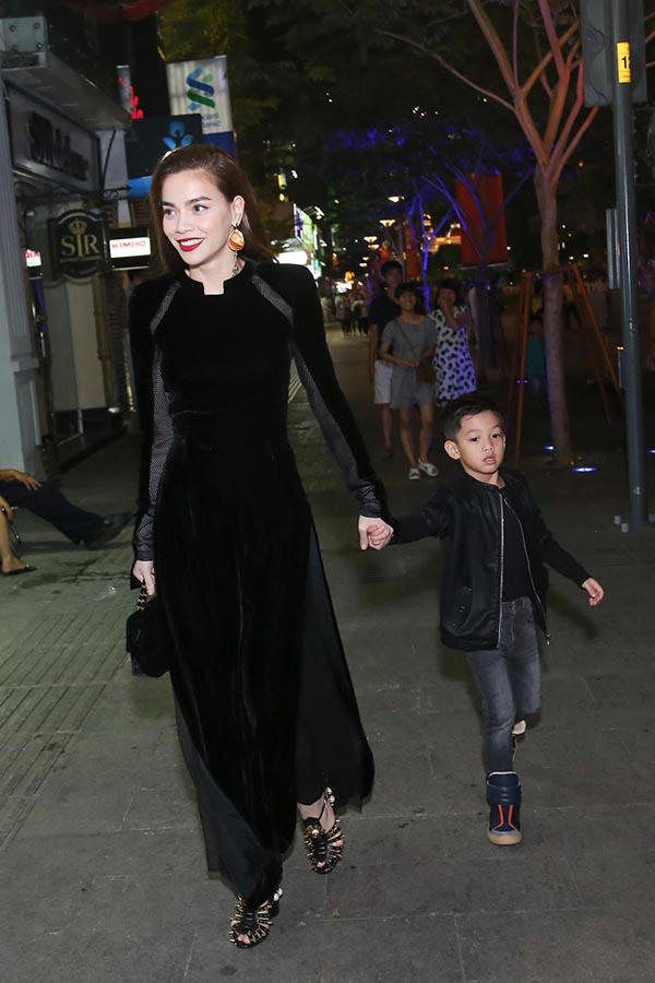 Hồ Ngọc Hà xuất hiện cùng người con trai cô yêu nhất - Ảnh 3.