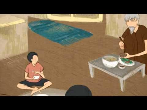 Cha, con trai và bài học nhân quả từ chiếc bát gỗ - Ảnh 1.