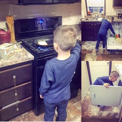 Mẹ Mỹ dạy con nấu ăn, mẹ Việt dạy con tìm người nấu cho ăn - Ảnh 1.