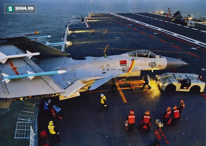 Chuyên gia TQ: Số lượng máy bay, phi công trên tàu Liêu Ninh chưa đạt tiêu chuẩn tác chiến - Ảnh 1.