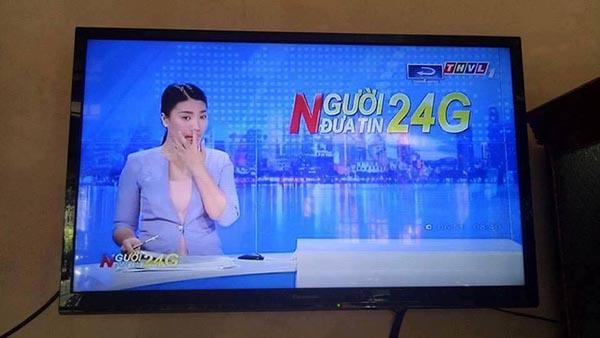 Nữ MC truyền hình Vĩnh Long có hành động gây tranh luận - Ảnh 2.