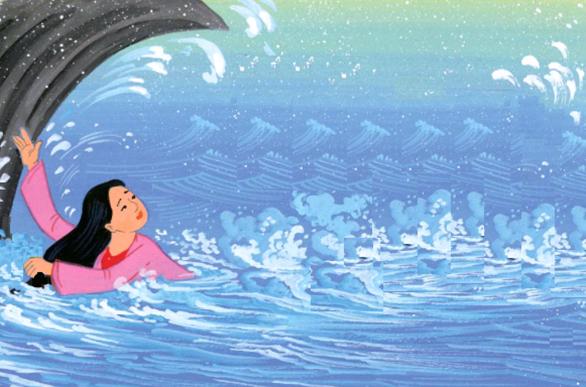 Không phải lông trâu, Yết Kiêu có tài lặn như thần là nhờ 1 người phụ nữ - Ảnh 2.