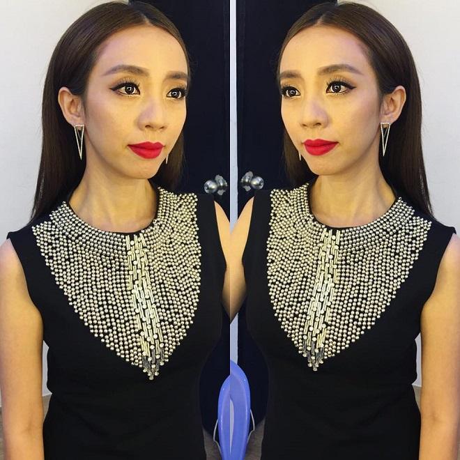 Hoa hậu hài Thu Trang bị chảy máu mũi không cầm được phải nhập viện cấp cứu - Ảnh 1.