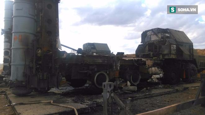 Tai nạn kinh hoàng: Tên lửa S-300 của Nga nổ tung sau khi phóng, phá tan xe điều khiển - Ảnh 3.