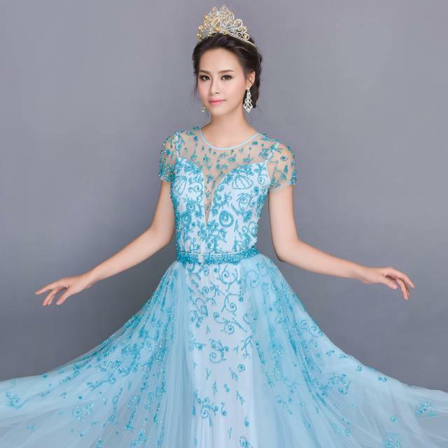 Hoa hậu Biển bị chê xấu hoàn toàn lột xác sau 5 tháng đăng quang - Ảnh 3.