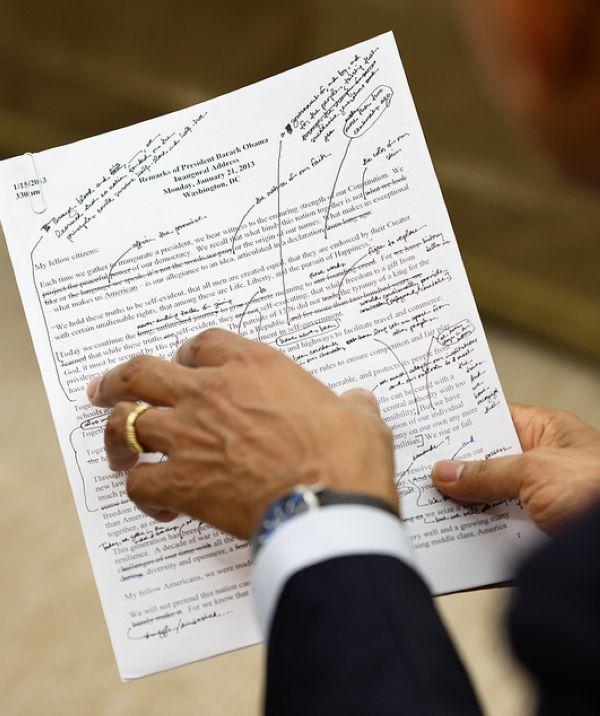 Phát biểu của Tổng thống Obama được chuẩn bị kỹ lưỡng tới mức nào? - Ảnh 1.